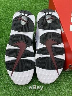Stock Nike Air Dead Plus D'argent Blanc / Noir / Rouge Taille 11 Hommes