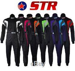 Str Les Costumes De Course Orci Approuvée 3.2a / 1 Ovale Stock Car Autograss Spedeworth F2 F1
