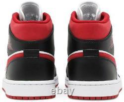Taille Homme 9-13 Nike Air Jordan 1 MID Metallic Gym Rouge/noir/blanc 554724-122