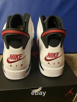 Tout Nouveau Air Jordan 6 Carmine 2021 Taille 10,5