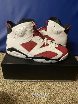 Tout Nouveau Air Jordan 6 Carmine 2021 Taille 12