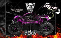 Traxxas X-maxx Graphics Wrap'hell Ride 'convient Aux Actions Et À La Pro-line Brute Bash Raptor