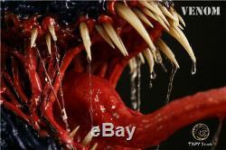 Txpy Studio Singe Gk Venom 1/2 Bust Toy Hot En Stock Limitée Noir-rouge