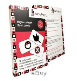 Weplaysmart, Standard Bébé Stimulation Kit & Programme Noir, Rouge, Blanc Jouets