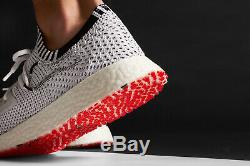 Y3 Adidas Yohji Yamamoto Raito Racer Chaussures De Formateurs Blanc Noir Rouge Uk 7.5 41.3