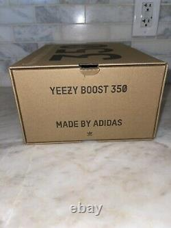 Yeezy Boost 350 V2 Bred Cp9652 Adidas Noir Rouge Chaussures Hommes Taille 9 Excellent